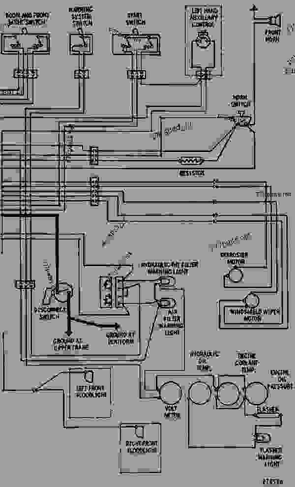 c214516 wiring diagram 24 volt system excavator caterpillar 225 225 On Off On Switch Wiring Diagram at soozxer.org