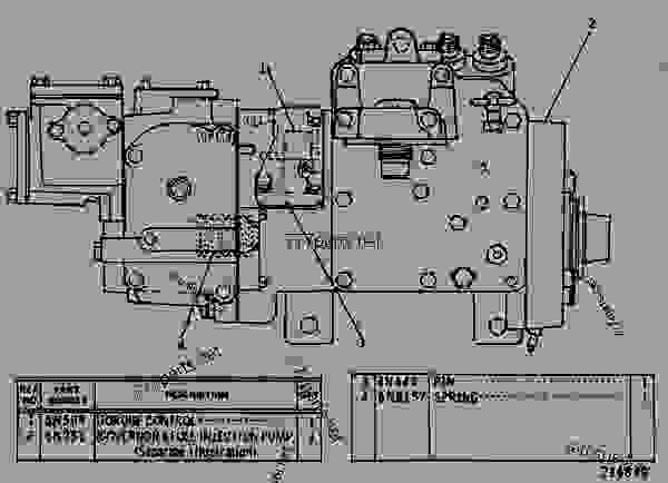 Parts scheme 7N6427 PUMP GROUP-GOV & FUEL INJ GOVERNOR AND FUEL INJECTION PUMP GROUP - ENGINE - GENERATOR SET Caterpillar 3304 - 3304 GENERATOR SET ENGINE 6YB00001-UP FUEL SYSTEM AND GOVERNOR | 777parts