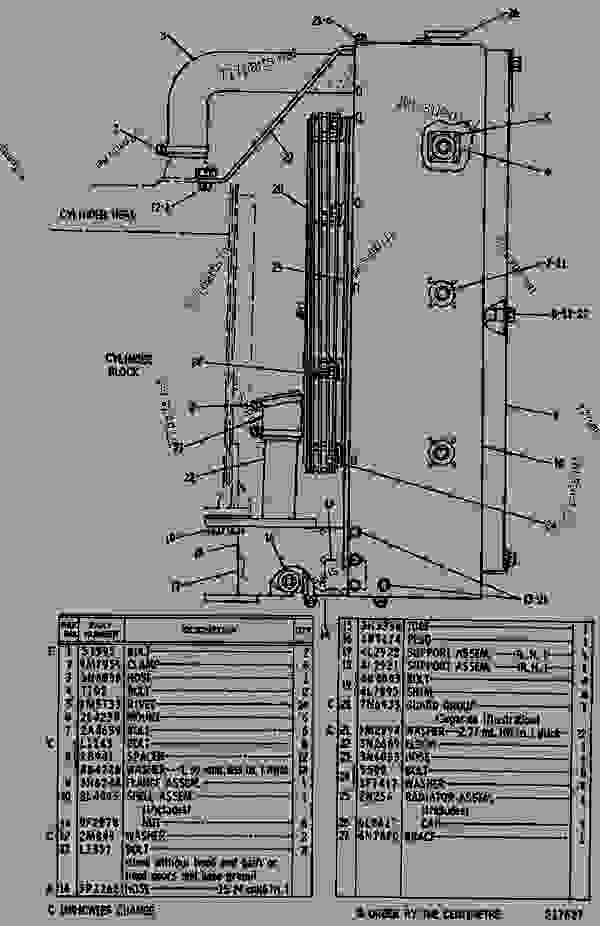 caterpillar 3304 engine parts diagram