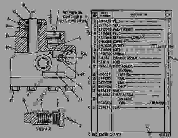Parts scheme 6N4437 PUMP GROUP-FUEL TRANSFER   - EARTHMOVING COMPACTOR Caterpillar 825C - 825C COMPACTOR 86X00001-00730 (MACHINE) POWERED BY 3406 ENGINE FUEL SYSTEM AND GOVERNOR | 777parts