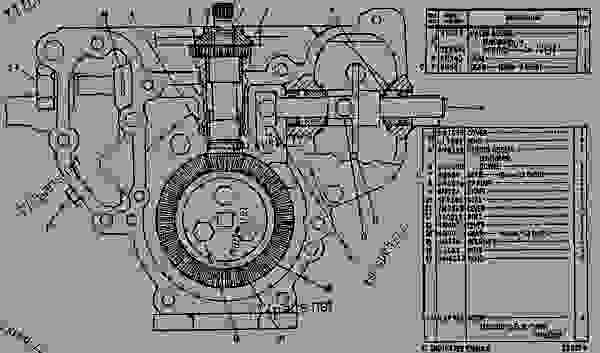 3408 cat engine diagram for wiring 7n1076 fuel injection pump group engine marine