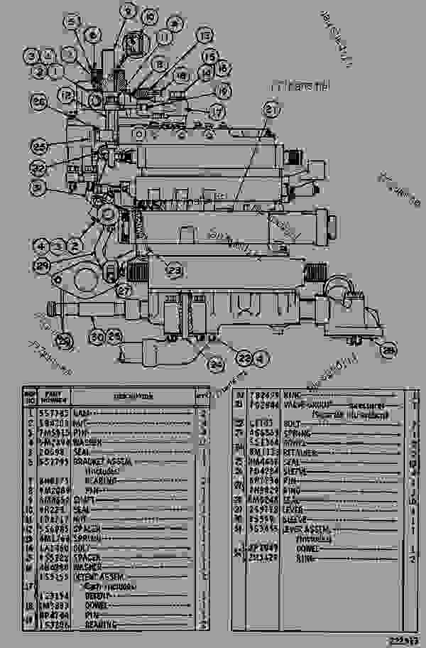 7g2777 control group-transmission hyd - wheel tractor-scraper caterpillar 623b