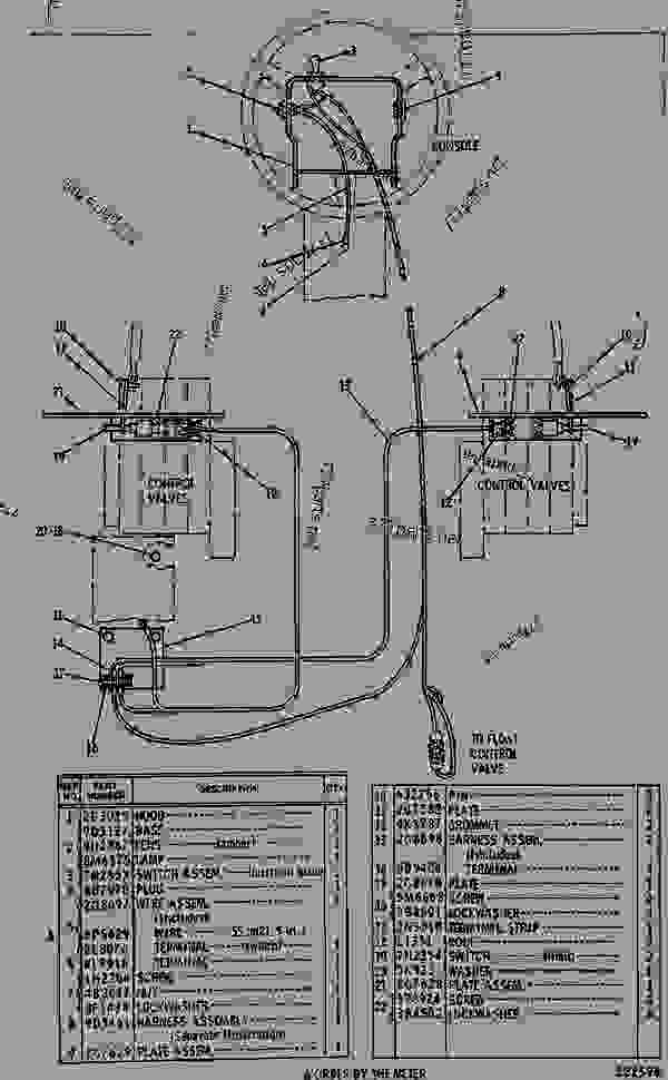 2g7610 blade float control wiring group