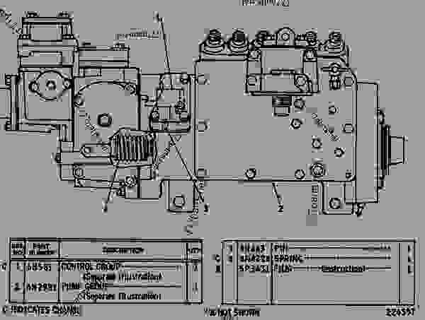 caterpillar 3306 engine parts diagram