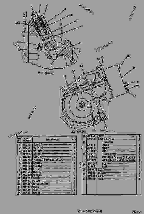 Parts scheme 6N5355 GOV & FUEL INJ PUMP GROUP  - EARTHMOVING COMPACTOR Caterpillar 815 - 815 COMPACTOR 15R00408-UP (MACHINE) POWERED BY 3306 ENGINE FUEL SYSTEM AND GOVERNOR | 777parts