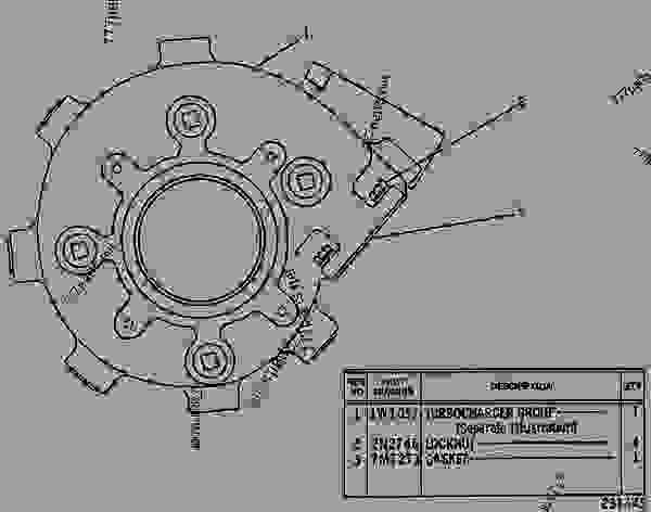 Parts scheme 1W0949 TURBOCHARGER GROUP TURBOCHARGER GROUP - ENGINE - GENERATOR SET Caterpillar 3406 - 3406 GENERATOR SET ENGINE 75Z00001-UP AIR INLET AND EXHAUST SYSTEM | 777parts