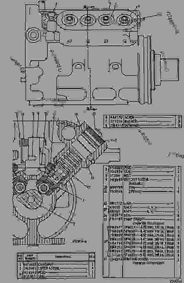 Parts scheme 9N3328 PUMP GROUP-FUEL INJECTION  - ENGINE - GENERATOR SET Caterpillar 3408C - 3408 GENERATOR SET ENGINE 78Z00001-01143 FUEL SYSTEM AND GOVERNOR | 777parts