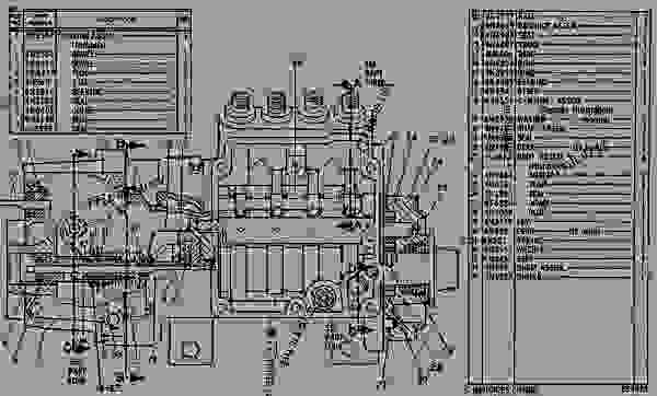 Parts scheme 4N6550 PUMP GROUP-GOV & FUEL INJ   - ENGINE - GENERATOR SET Caterpillar 3304 - 3304 GENERATOR SET ENGINE 6YB00001-UP FUEL SYSTEM AND GOVERNOR | 777parts