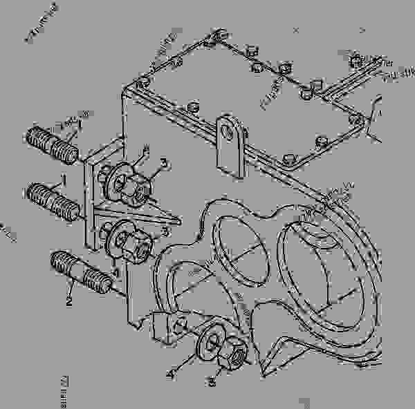 7G9423 MOUNTING GROUP-WINCH - TRACK-TYPE TRACTOR Caterpillar