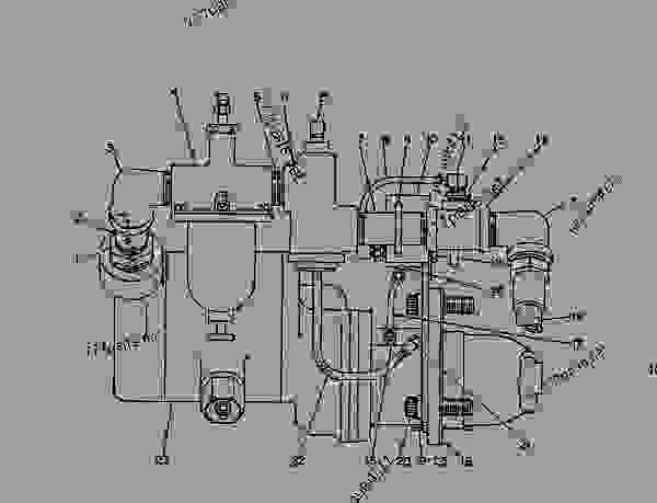Parts scheme 4N4395 STARTING MOTOR GROUP-AIR  -LH - ENGINE - GENERATOR SET Caterpillar 3406 - 3406 GENERATOR SET ENGINE 75Z00001-UP STARTING AND ELECTRICAL SYSTEM | 777parts