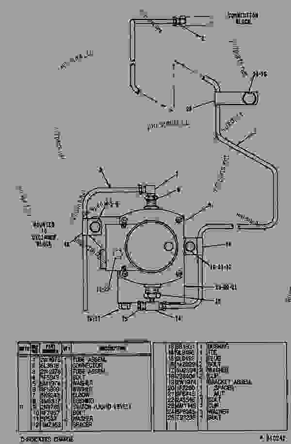 Parts scheme 2W1973 DRAIN GROUP-FUEL   - ENGINE - GENERATOR SET Caterpillar 3304 - 3304 GENERATOR SET ENGINE 83Z00001-03095 FUEL SYSTEM AND GOVERNOR | 777parts