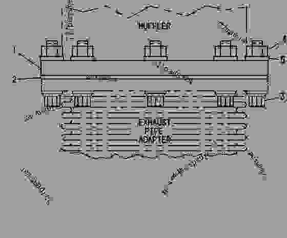 Parts scheme 2W7852 FLANGE GROUP-EXHAUST FLANGE GROUP-EXHAUST - ENGINE - GENERATOR SET Caterpillar 3408 - 3408 GENERATOR SET ENGINE 78Z00001-01143 AIR INLET AND EXHAUST SYSTEM | 777parts