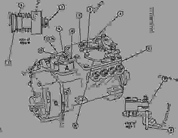 Parts scheme 9N5863 PUMP GROUP-GOV & FUEL INJ GOVERNOR & FUEL INJECTION PUMP GROUP - ENGINE - GENERATOR SET Caterpillar 3208 - 3208 GENERATOR SET ENGINE 30A00210-05099 FUEL SYSTEM AND GOVERNOR | 777parts