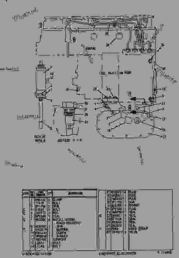 1W1354 LINES GROUP-FUEL INJECTION FUEL INJECTION LINES GROUP - ENGINE -  INDUSTRIAL Caterpillar 3204 - 3204 INDUSTRIAL ENGINE 2TB00001-UP FUEL  SYSTEM AND GOVERNOR | 777parts | Group Engine Diagram |  | 777parts
