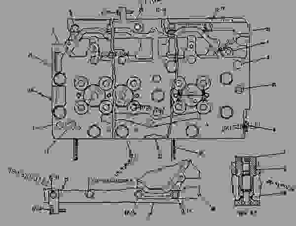 Parts scheme 4N2622 CYLINDER HEAD GROUP  - ENGINE - GENERATOR SET Caterpillar 3412C - 3412 ENGINE GENERATOR SET 81Z00001-04999 BASIC ENGINE | 777parts
