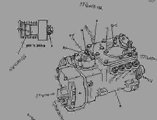 Parts scheme 4W5632 PUMP GROUP-GOV & FUEL INJ  - ENGINE - GENERATOR SET Caterpillar 3208 - 3208 GENERATOR SET ENGINE 30A00210-05099 FUEL SYSTEM AND GOVERNOR | 777parts