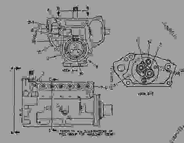 Parts scheme 4W6068 PUMP GROUP-FUEL INJECTION   - ENGINE - GENERATOR SET Caterpillar 3412 - 3412 ENGINE GENERATOR SET 81Z00001-04999 FUEL SYSTEM AND GOVERNOR | 777parts