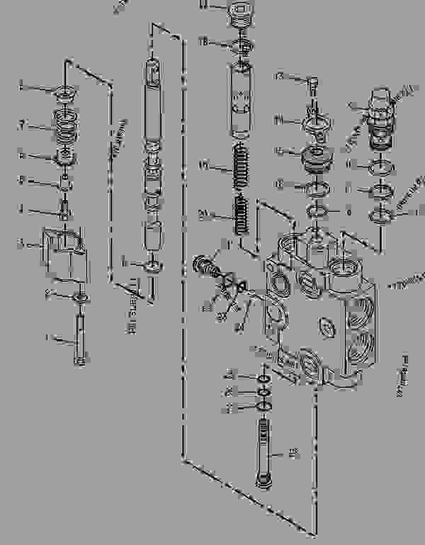 Parts scheme 9T0626 VALVE GROUP-CONTROL (CLAM) - BACKHOE LOADER Caterpillar 428 - 428 BACKHOE LOADER 6TC00001-02693 (MACHINE) HYDRAULICS | 777parts