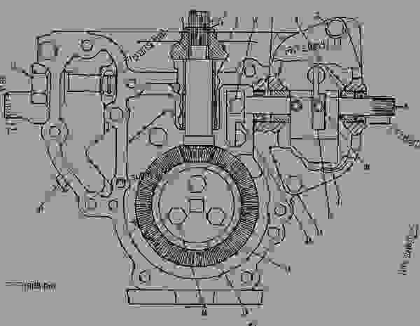 Parts scheme 4W6073 PUMP GROUP-FUEL INJECTION   - ENGINE - GENERATOR SET Caterpillar 3412C - 3412 ENGINE GENERATOR SET 81Z00001-04999 FUEL SYSTEM AND GOVERNOR | 777parts