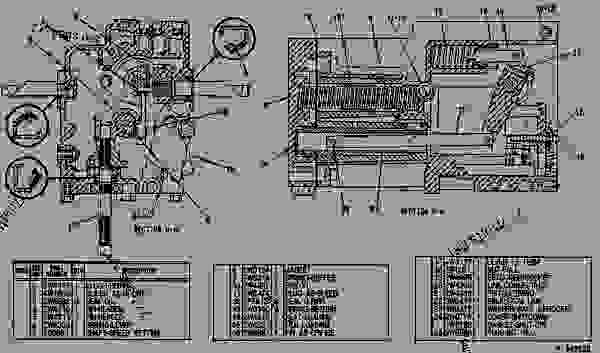 Parts scheme 4W7269 GOVERNOR GROUP-WOODWARD   - ENGINE - MARINE Caterpillar 3516 - 3516 MARINE ENGINE 72Z00001-00338 FUEL SYSTEM AND GOVERNOR | 777parts