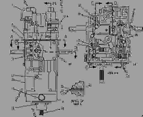 Parts scheme 7C0084 GOVERNOR GROUP GOVERNOR GROUP - ENGINE - MARINE Caterpillar 3516 - 3516 MARINE ENGINE 29Z00001-00817 FUEL SYSTEM AND GOVERNOR | 777parts