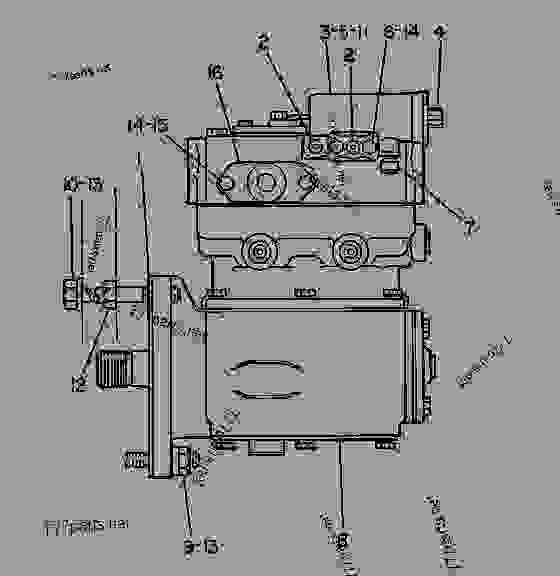 Parts scheme 1N2981 AIR COMPRESSOR GROUP AIR COMPRESSOR GROUP - EARTHMOVING COMPACTOR Caterpillar 825 - 825C COMPACTOR 86X00001-00730 (MACHINE) POWERED BY 3406 ENGINE AIR INLET AND EXHAUST SYSTEM | 777parts