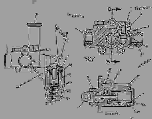 Parts scheme 5Y0245 PUMP GROUP-FUEL TRANSFER  - ENGINE - GENERATOR SET Caterpillar 3304B - 3304B GENERATOR SET ENGINE 1YF00001-UP FUEL SYSTEM AND GOVERNOR | 777parts