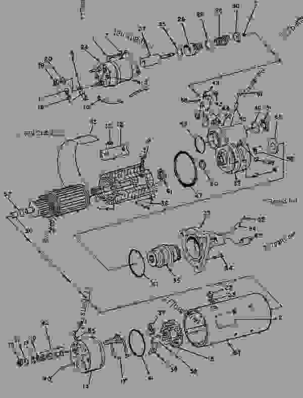 Parts scheme 8C3651 STARTING MOTOR GROUP-ELECTRIC STARTING MOTOR GP-ELECTRIC-DELCO-REMY - ENGINE - GENERATOR SET Caterpillar 3304 - 3304 GENERATOR SET ENGINE 3TC00001-UP STARTING AND ELECTRICAL SYSTEM | 777parts