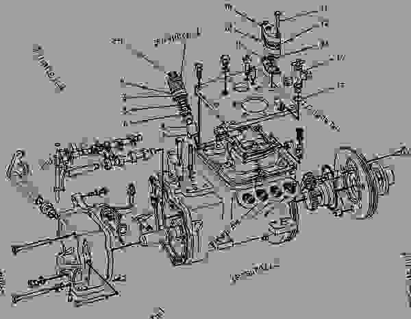 Parts scheme 7C0892 PUMP GROUP-GOV & FUEL INJ   - ENGINE - GENERATOR SET Caterpillar 3208 - 3208 GENERATOR SET ENGINE 30A00210-05099 FUEL SYSTEM AND GOVERNOR | 777parts