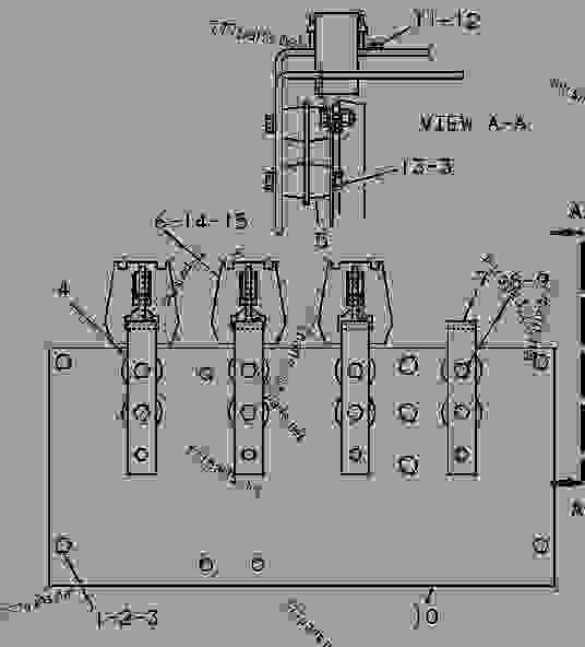 Parts scheme 5Y0170 STRIP GROUP-TERMINAL  - ENGINE - GENERATOR SET Caterpillar 3304B - 3304B GENERATOR SET ENGINE 1YF00001-UP STARTING AND ELECTRICAL SYSTEM | 777parts