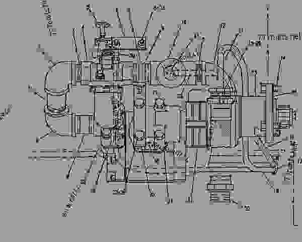 Parts scheme 5N8744 STARTING MOTOR GROUP-AIR  -LH - ENGINE - GENERATOR SET Caterpillar 3412C - 3412 ENGINE GENERATOR SET 81Z00001-04999 STARTING AND ELECTRICAL SYSTEM | 777parts