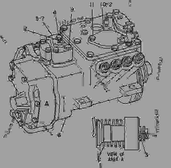 Parts scheme 7C9665 PUMP GROUP-GOV & FUEL INJ   - ENGINE - GENERATOR SET Caterpillar 3208 - 3208 GENERATOR SET ENGINE 30A00210-05099 FUEL SYSTEM AND GOVERNOR | 777parts