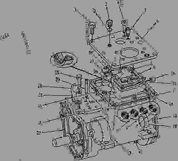 Parts scheme 9Y0509 PUMP GROUP-GOV & FUEL INJ   - ENGINE - GENERATOR SET Caterpillar 3208 - 3208 GENERATOR SET ENGINE 29A00225-UP FUEL SYSTEM AND GOVERNOR | 777parts