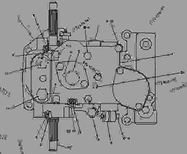 Parts scheme 1N4928 GOVERNOR GROUP  - ENGINE - GENERATOR SET Caterpillar 3412 - 3412 ENGINE GENERATOR SET 81Z00001-04999 FUEL SYSTEM AND GOVERNOR | 777parts