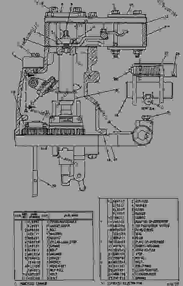 Parts scheme 1N4928 GOVERNOR GROUP  - ENGINE - GENERATOR SET Caterpillar 3412C - 3412 ENGINE GENERATOR SET 81Z00001-04999 FUEL SYSTEM AND GOVERNOR | 777parts