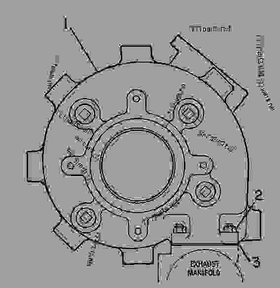Parts scheme 1N4776 TURBOCHARGER GROUP TURBOCHARGER GROUP--WATERCOOLED - ENGINE - GENERATOR SET Caterpillar 3412C - 3412 ENGINE GENERATOR SET 81Z00001-04999 AIR INLET AND EXHAUST SYSTEM | 777parts