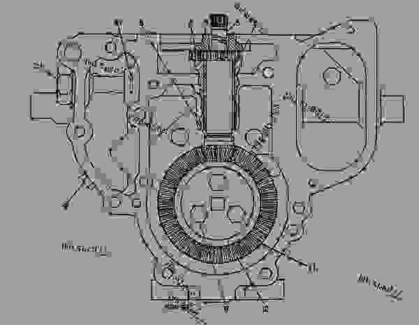 Parts scheme 4W6012 PUMP GROUP-FUEL INJECTION   - ENGINE - GENERATOR SET Caterpillar 3408B - 3408B GENERATOR SET ENGINE 2BG00001-UP FUEL SYSTEM AND GOVERNOR | 777parts