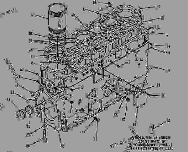Parts scheme 8N9267 CYLINDER BLOCK GROUP CYLINDER BLOCK GROUP - EARTHMOVING COMPACTOR Caterpillar 825C - 825C COMPACTOR 86X00001-00730 (MACHINE) POWERED BY 3406 ENGINE BASIC ENGINE | 777parts