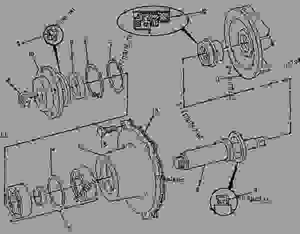 caterpillar 3204 starter wiring diagram john deere loader