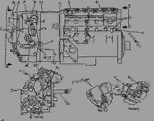 Parts scheme 7W9365 PUMP GROUP-GOV & FUEL INJ PUMP GP-GOVERNOR & FUEL INJECTION - ENGINE - GENERATOR SET Caterpillar 3306B - 3306B GENERATOR SET ENGINE 2AJ00001-UP FUEL SYSTEM AND GOVERNOR | 777parts