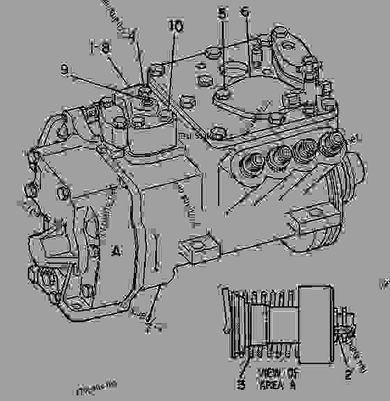 Parts scheme 9Y6065 PUMP GROUP-GOV & FUEL INJ   - ENGINE - GENERATOR SET Caterpillar 3208 - 3208 GENERATOR SET ENGINE 30A00210-05099 FUEL SYSTEM AND GOVERNOR | 777parts