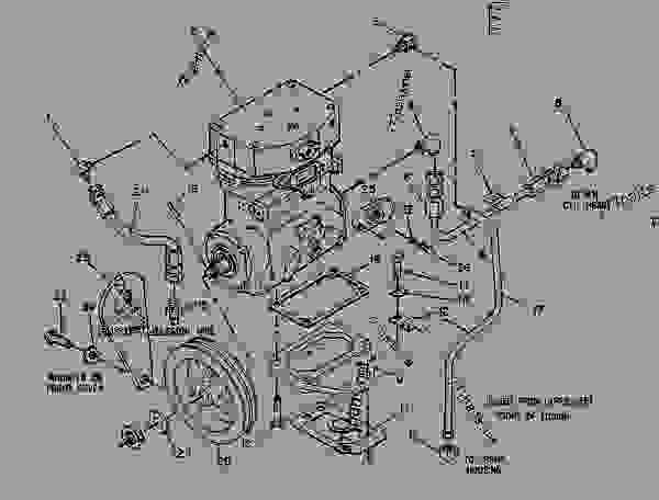 Parts scheme 6N8895 AIR COMPRESSOR GROUP  - COLD PLANER Caterpillar PR-1000C - PR-1000 PAVEMENT PROFILER 5XC00001-00137 (MACHINE) POWERED BY 3208,3412 ENGINE INTAKE AND EXHAUST SYSTEM | 777parts
