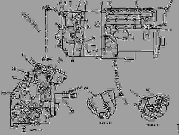 Parts scheme 2W0056 PUMP GROUP-GOV & FUEL INJ   - ENGINE - GENERATOR SET Caterpillar 3306B - 3306B GENERATOR SET 1DG00001-UP FUEL SYSTEM AND GOVERNOR | 777parts