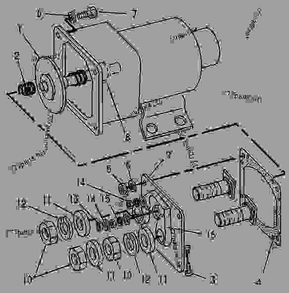 Parts scheme 3T5045 SOLENOID AS  -STARTING MOTOR - ENGINE - GENERATOR SET Caterpillar 3304 - 3304 GENERATOR SET ENGINE 83Z00001-03095 STARTING AND ELECTRICAL SYSTEM | 777parts