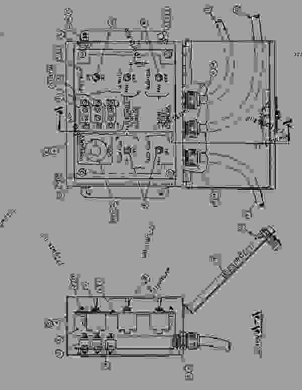 Parts scheme 0819747 WIRING GROUP-SCREED  - ASPHALT PAVER Caterpillar AP-1200 - AP-1200 ASPHALT PAVER 2JD00001-UP (MACHINE) POWERED BY 6.354 ENGINE STARTING AND ELECTRICAL SYSTEM | 777parts