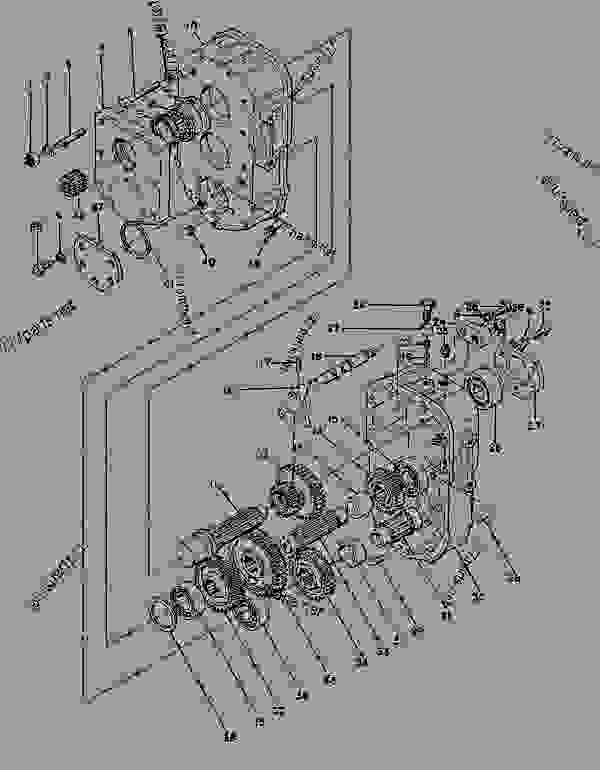 Parts scheme 0817050 AXLE GROUP-DRIVE  - ASPHALT PAVER Caterpillar AP-800B - AP-800 ASPHALT PAVER 1BF00001-00224 (MACHINE) POWER TRAIN | 777parts