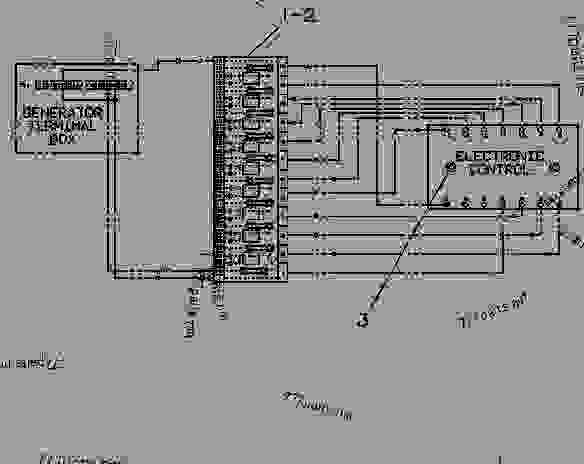cat generator wiring diagram 9y6496 control group-emcp electronic (customer) - engine - generator set caterpillar 3208 - 3208 ...