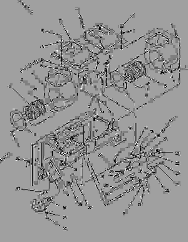 Parts scheme 6T7884 HEATER GROUP-CAB   - BACKHOE LOADER Caterpillar 438 - 438 BACKHOE LOADER 3DJ00001-00827 (MACHINE) POWERED BY 4.236 DIESEL ENGINE OPERATOR PLATFORM | 777parts