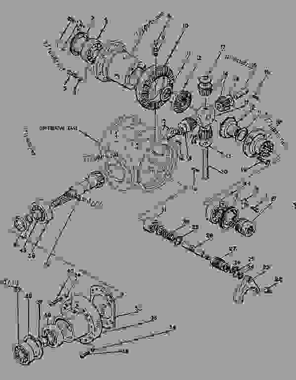 Parts scheme 0817050 AXLE GROUP-DRIVE  - ASPHALT PAVER Caterpillar 8 FT - AP-800B ASPHALT PAVER 1BF00225-UP (MACHINE) POWERED BY 4.236 ENGINE POWER TRAIN | 777parts