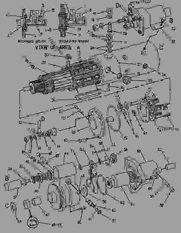 Parts scheme 7T0799 STARTING MOTOR GROUP-ELECTRIC   - ENGINE - GENERATOR SET Caterpillar 3208 - 3208 GENERATOR SET ENGINE 29A00225-UP STARTING AND ELECTRICAL SYSTEM | 777parts